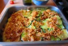Polenta mit Zucchini überbacken