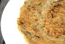 Buchweizen-Gemüse-Pfannekuchen